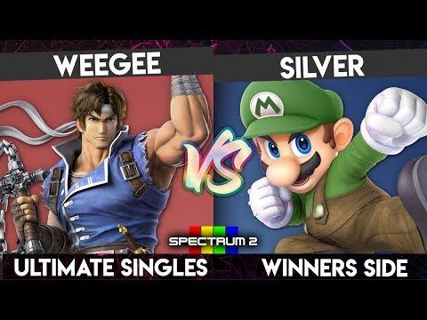 SPECTRUM 2 - Weegee (Richter) vs. Silver (Mario) - Winners Side - Smash Ultimate Singles