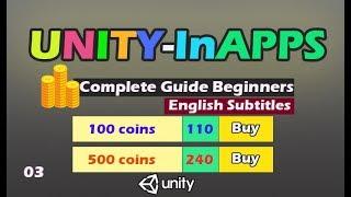 unity In App purchase IAP Tutorial [03]