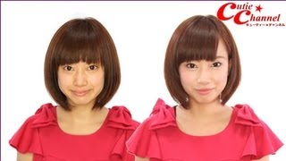キューティーチャンネル http://www.cutie-channel.com ☆メイクアップ再...