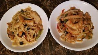 VEGAN SHRIMP & CHICKEN STIR FRY RECIPE #Vegan #StirFry #Healthy #HealthyLifestyle #parisart88