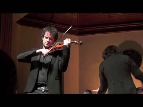 Marc Bouchkov performs F.Mendelssohn-Bartholdi Violin Concerto in D Minor (excerpts)