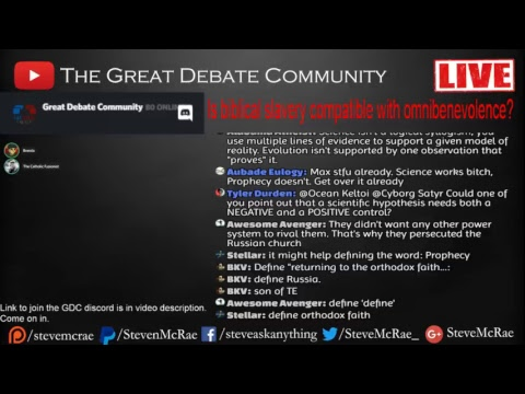 Is Biblical Slavery Compatible with Omnibenevolence? (Aftershow)