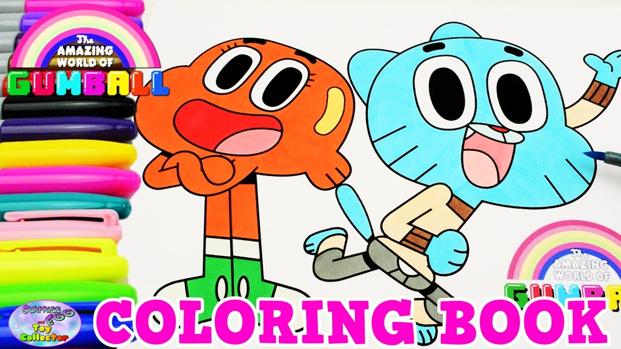 The Amazing World of Gumball Coloring