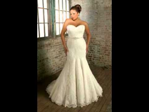 2014 Beautiful Plus Size Wedding Dresses Gallery Youtube