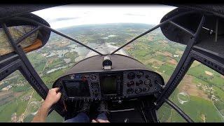 Balade Aéro au dessus du lac de Montrevel en Bresse