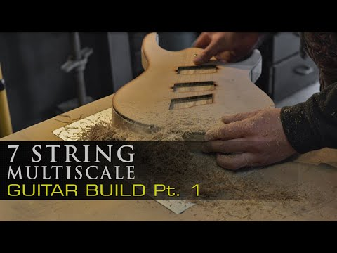 7 String Multiscale - Guitar Build - PART 1