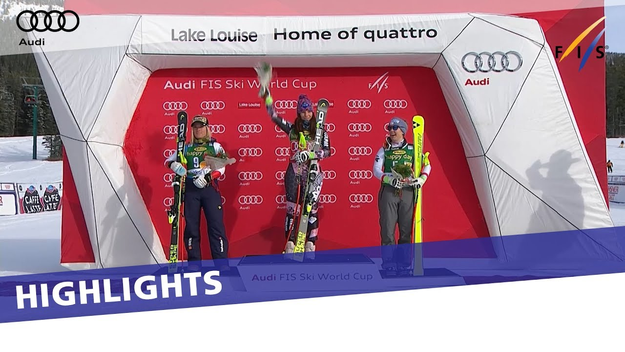 Highlights Tina Weirather Claims The Victory In Lake