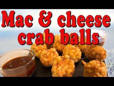 Mac & Cheese Crab Balls - Handle it