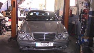 видео ремонт автомобиля mercedes benz