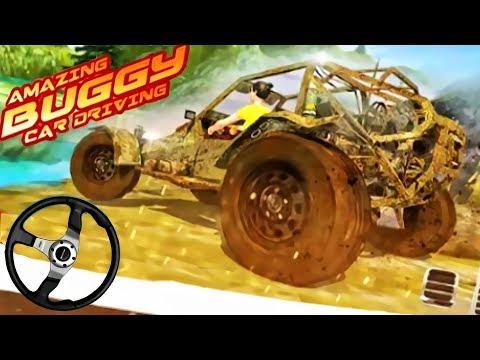 Mountain Car Buggy Hill Climb 2018 - Best Offroad Simulator   Driving 4x4 Monster Truck   Kids Video