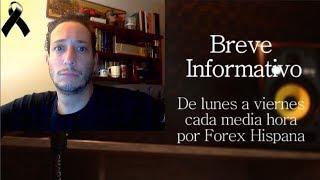 Breve Informativo - Noticias Forex del 20 de Septiembre 2018