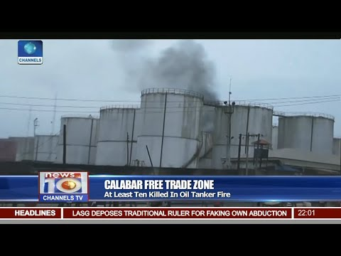 News@10: Tank Farm Explosion Kills Ten In Cross River 16/07/17 Pt 1