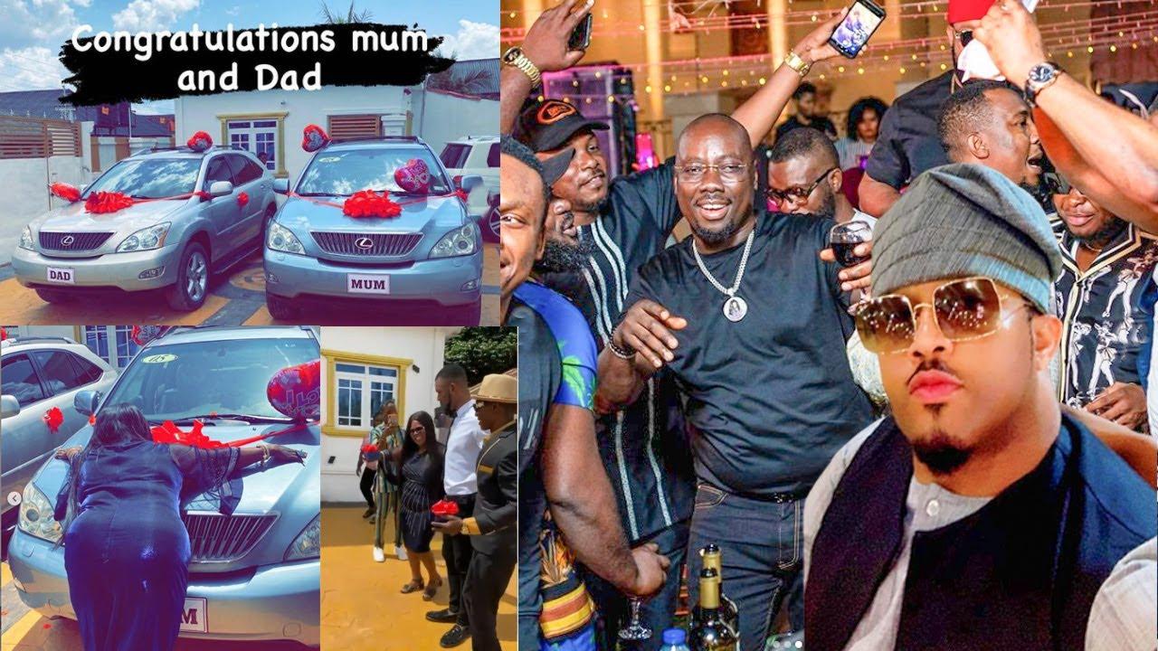 Download Watch How Obi Cubana Shutdown Nollywood Actor Mike Ezuruonye's Birthday Party As Mum & Dad Got Cars.