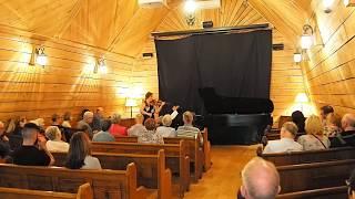 Healey Willan Sonata no. 1 in E minor (1916), II Adagio, LIVE at Pontiac Enchanté