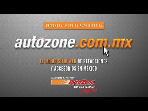 Nuevo sitio web www.autozone.com.mx