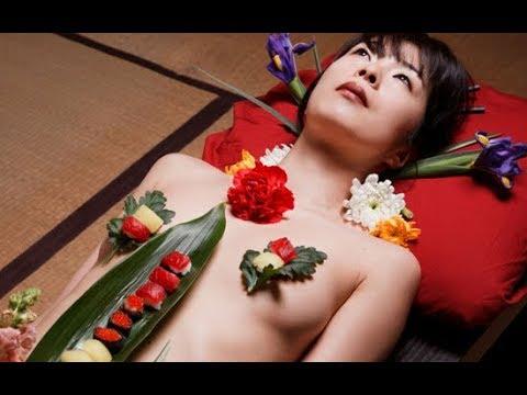 Văn hóa Nhật Bản: Ăn SHUSHI trên cơ thể t.r.i.n.h n.ữ tuyệt đẹp