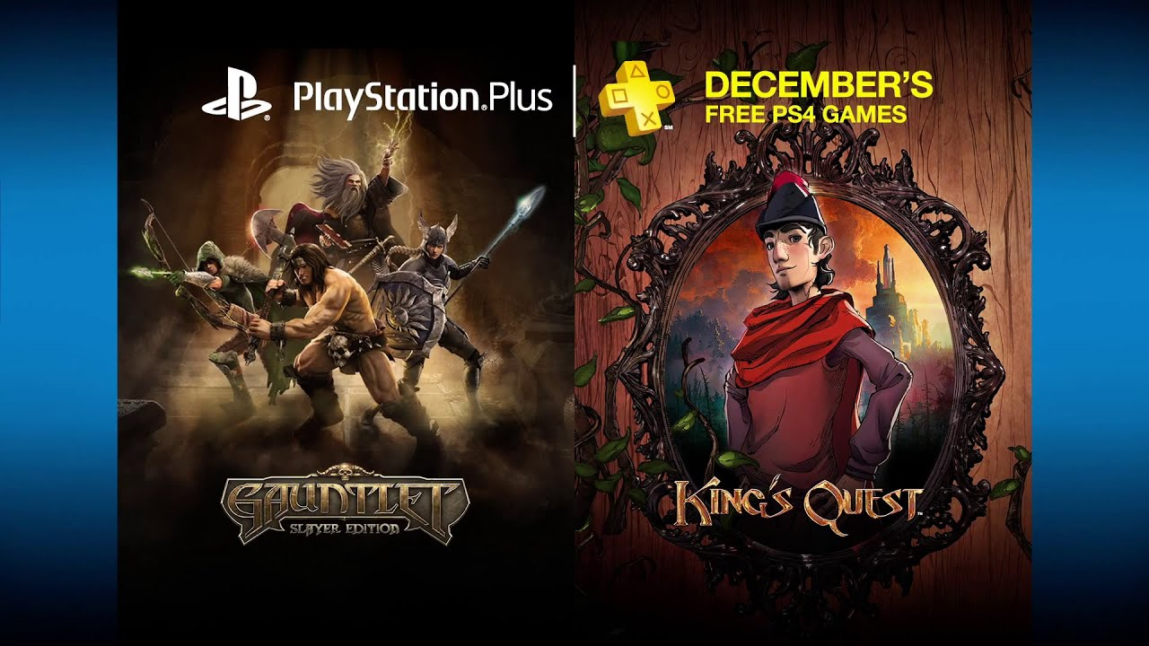 PlayStation Plus Free PS4 Games Lineup December 2015 - YouTube