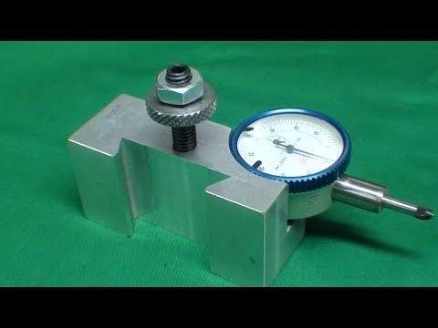 Machine a Dovetail Indicator Holder TIPS #410 tubalcain