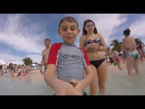 Hannah & Gavin Go To Castaway Cay!
