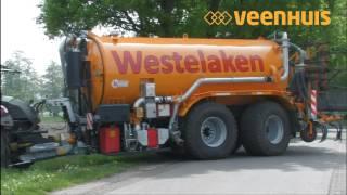 Veenhuis Premium tandem tank Westelaken