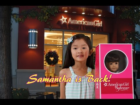 American Girl BeForever Collection| Samantha