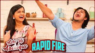 Ashi Hi Aashiqui (AHA) | Rapid Fire Round | Abhinay Berde, Hemal Ingle | New Marathi Movie
