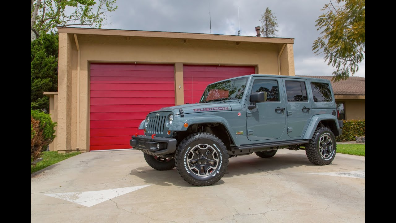 Review 10th Anniversary Jeep Rubicon Best Jeep And Off