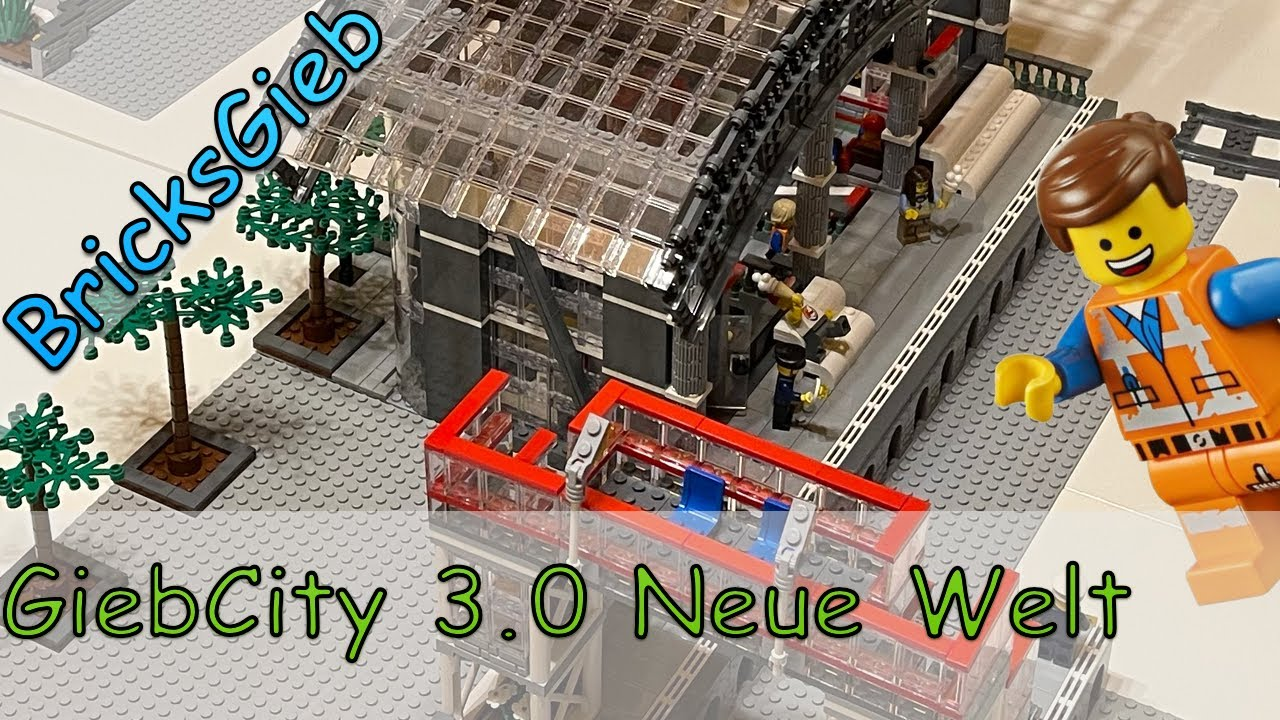 "GiebeCity Update 3.0 ""Neue Lego Welt"" / NEW Lego World"