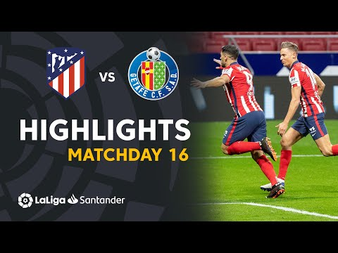 Atletico Madrid Getafe Goals And Highlights
