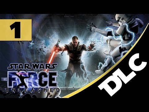 """The Force Unleashed - DLC Missions - Let's Play - Part 1 - [Jedi Temple] - """"Dark Apprentice Boss"""""""