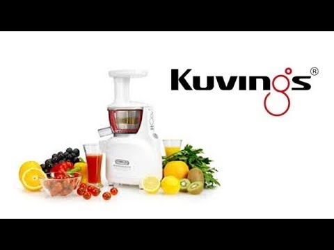 Kuvings Whole Slow Juicer Demonstration LIvE From The 2014 IHA Trade Show - YouTube