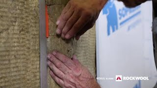 How to Install ROCKWOOL CAVITYROCK® with Cascadia Clip