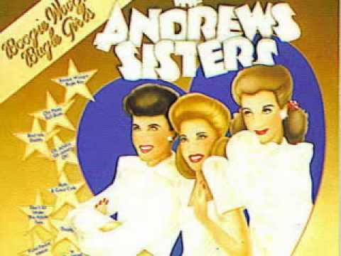 Andrews Sisters Three Little Fishes (Rare DOT Recording)