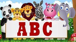 ABC SONG FOR CHILDREN - ANIMALS Alphabet Music for Kids
