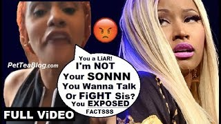 Cardi B EXPOSES Nicki Minaj in Response to Rah Ali Spills All Her TEA ☕🐸 Video