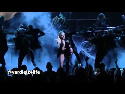 Lady Gaga Marry The Night live Grammy Nominations 2012