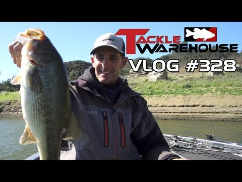 Swimbait Fishing On Santa Margarita Lake With Matt Newman Pt. 2- Tackle Warehouse VLOG #328