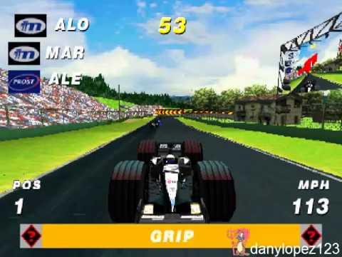 PSX Formula One Arcade - Stage Mode - Level 1