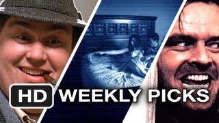 Weekly Movie Picks - John Hughes, Kubrick, Paranormal Activity - Week of October 15, 2012 HD