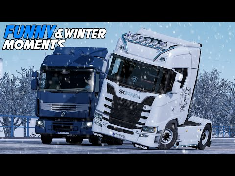 ep.#25---funny-&-random-moments---euro-truck-simulator-2