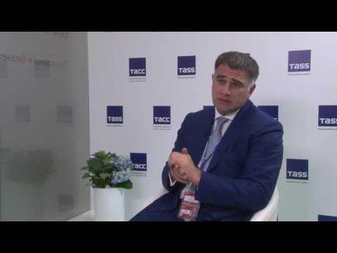 Исполняющий обязанности гендиректора ОЗК Марат Шайдаев в интервью ТАСС на ПМЭФ-2016. ч.2