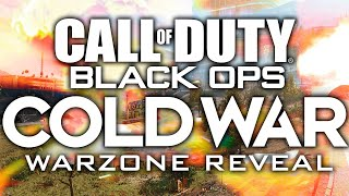 Call Of Duty: BLACK OPS COLD WAR Warzone Reveal Trailer - AlphaSniper97