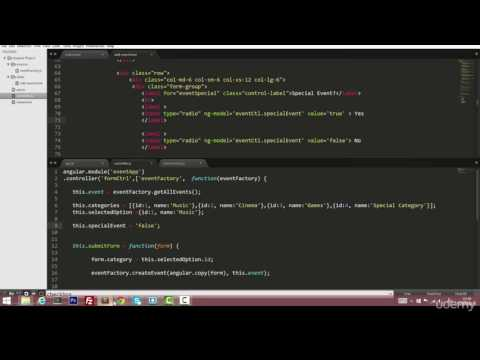 04 Forms in AngularJS - 010 radio buttons and ng value