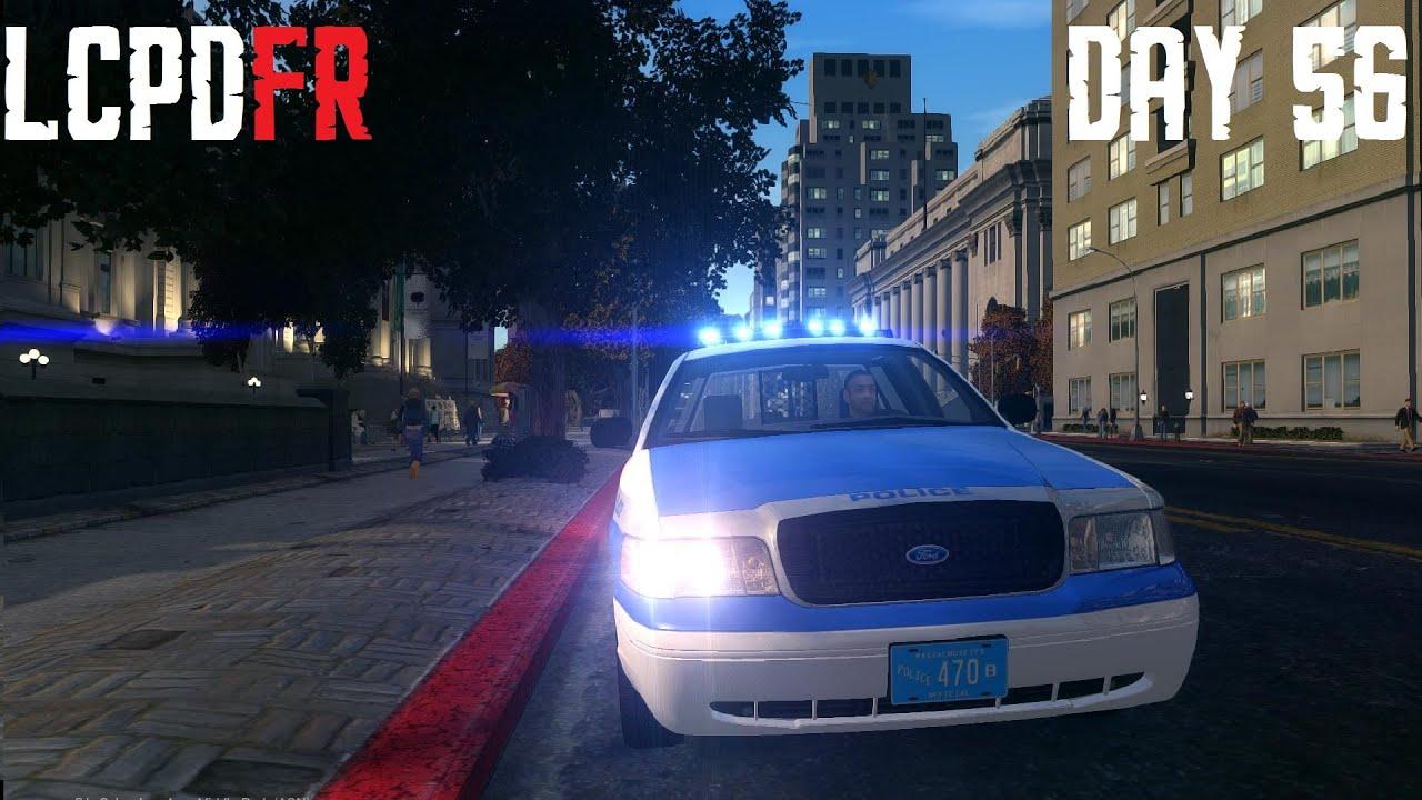 Gta Iv Lcpdfr 1 0 Day 56 Boston Police Crown Victoria Fs