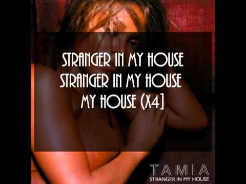 Tamia stranger in my house [thunderpuss radio mix] with lyrics on the screen