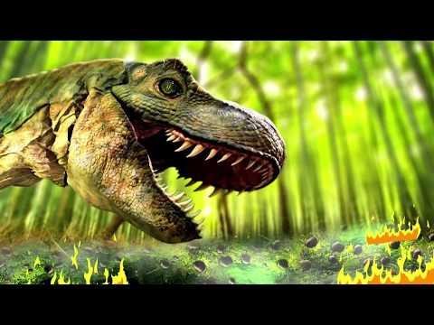 Dinosaur Attack on Kattappa |Bahubali Finger Family |Kattappa Fun with Dinosaur| Lotusbaby TV