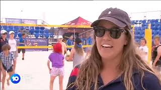 Volleyball SA Appears on Ten Eyewitness News