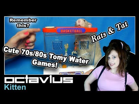 1980s Tomy Water Games Waterfuls – Rats and Tat! – Octav1us