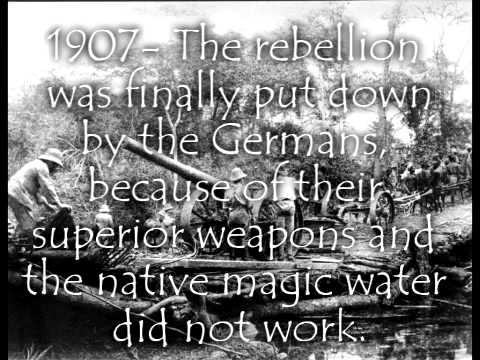 Maji Maji Rebellion Germans
