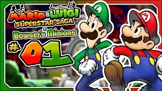 Mario & Luigi - Superstar Saga + Bowser's Minions - Part 1: Cackletta Attacks! (3DS)